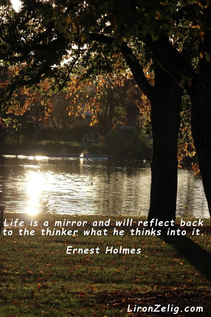 lifeas reflection